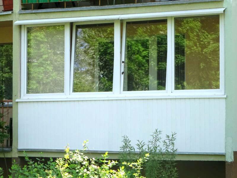 Zabudowa oknami PCV